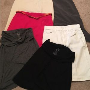 Set of 6 miscellaneous skirts - size 6